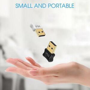 USB Bluetooth 5.0 Adapter Drahtloser Empfänger für Windows 7/8/10 Vista/ PC X7B0