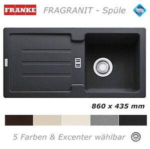 Cool Franke Fragranit Spüle 86 x 43,5 Granit 5 Farb. Granitspüle  TI79