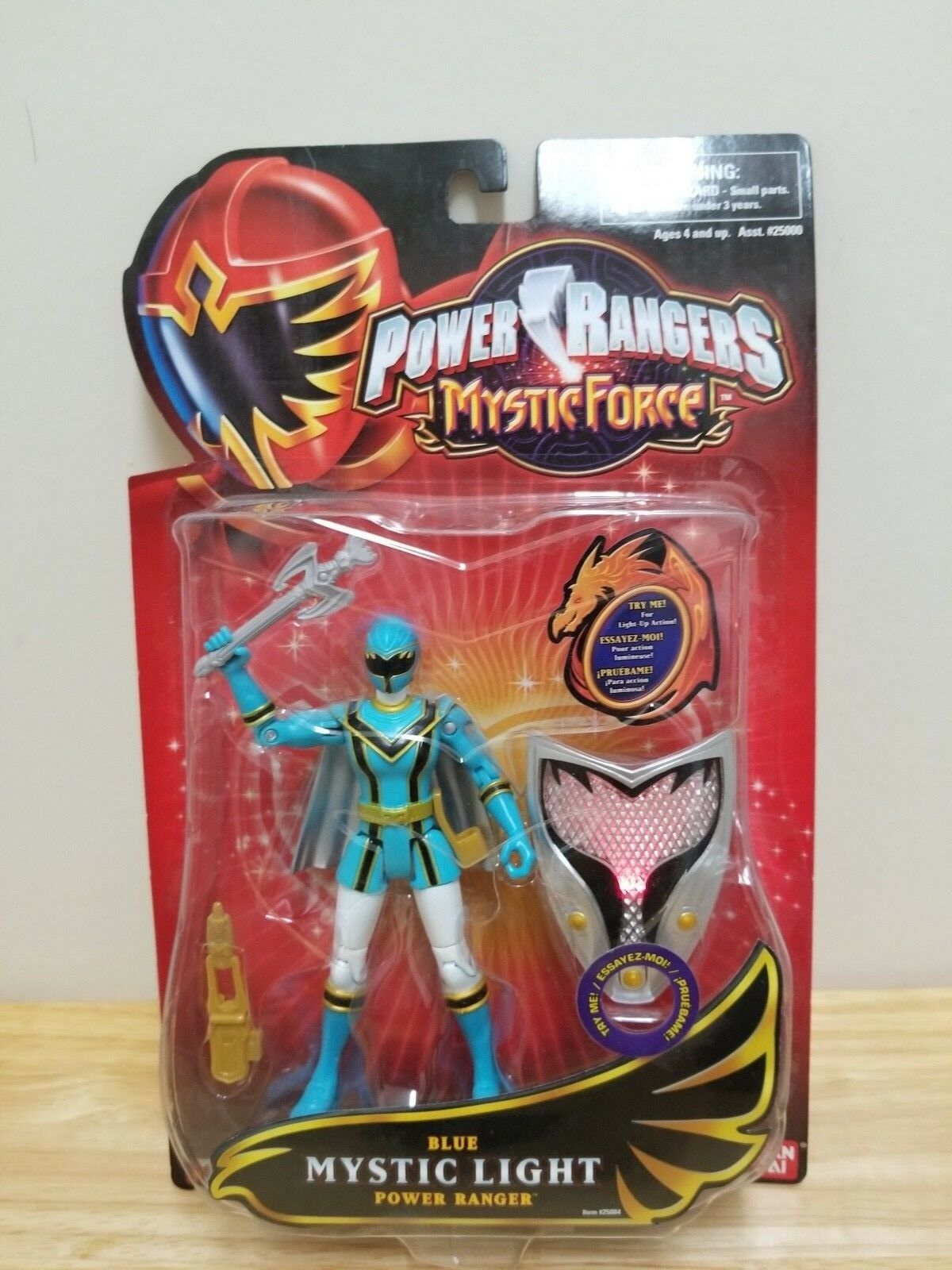Power Rangers Mystic Force bluee & Pink Ranger