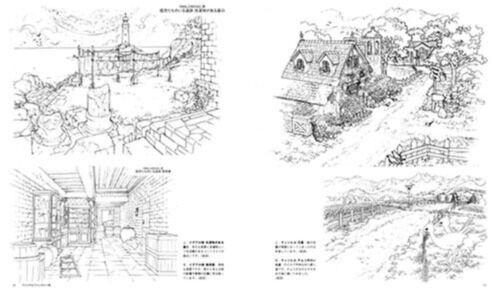 Kusanagi #4 Background illustration art book From Japan