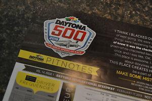 Details about 2019 Daytona 500 Starting Lineup Pitnotes, Monster Energy  NASCAR, Program Insert