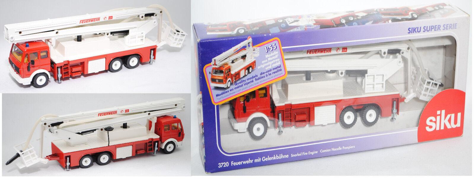 SIKU SUPER 3720 Mercedes-Benz SK 2629 pompiers avec couronne scène, scène, scène, 1 55 80b208