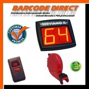 Sistema-di-gestione-coda-wireless-completo-erogatore-display-telecomando