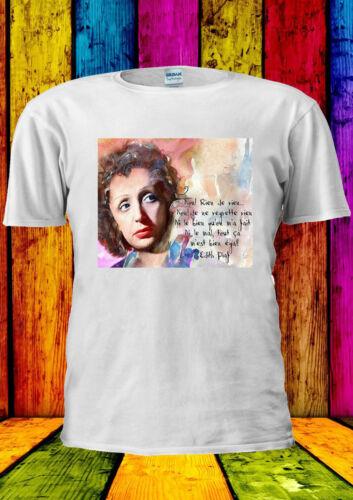 Édith Piaf Edith Piaf French Singer T-shirt Vest Tank Top Men Women Unisex 2235