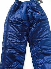 MENS NIKE FOOTBALL BENCH  Padded Pants Shiny Wet Look XL Nylon Glanz BNWT VTG