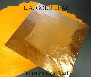 Imitation GOLD LOOSE LEAF SHEETS-EN: Bulk Sale! ! METAL GILDING