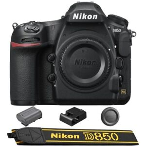 Nikon D850 Digital SLR Camera Body 45.7MP 4K FX-format