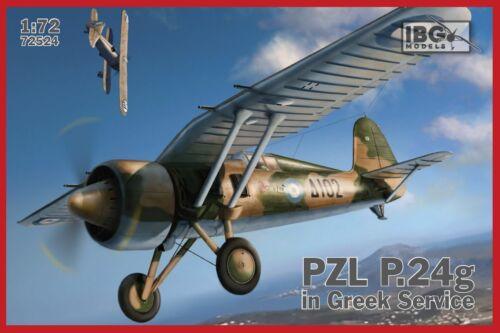 IBG 1//72 PZL P.24G  in Greek Service # 72524