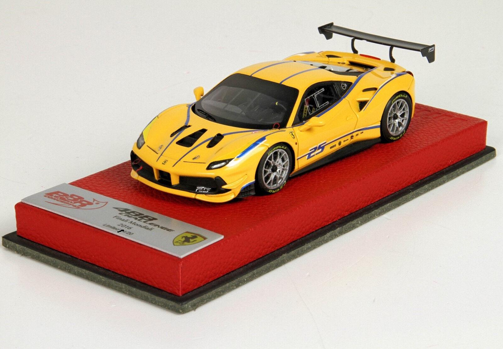 Ferrari 488 Challenge Finali Mondiali Mondiali Mondiali 2016  1 43 lim.ed. 20 pcs BBRC197APRE BBR 79f6d9