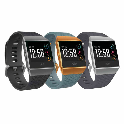 Original Fitbit IONIC Smartwatch Bluetooth GPS Activity Tracker S/&L Bands New
