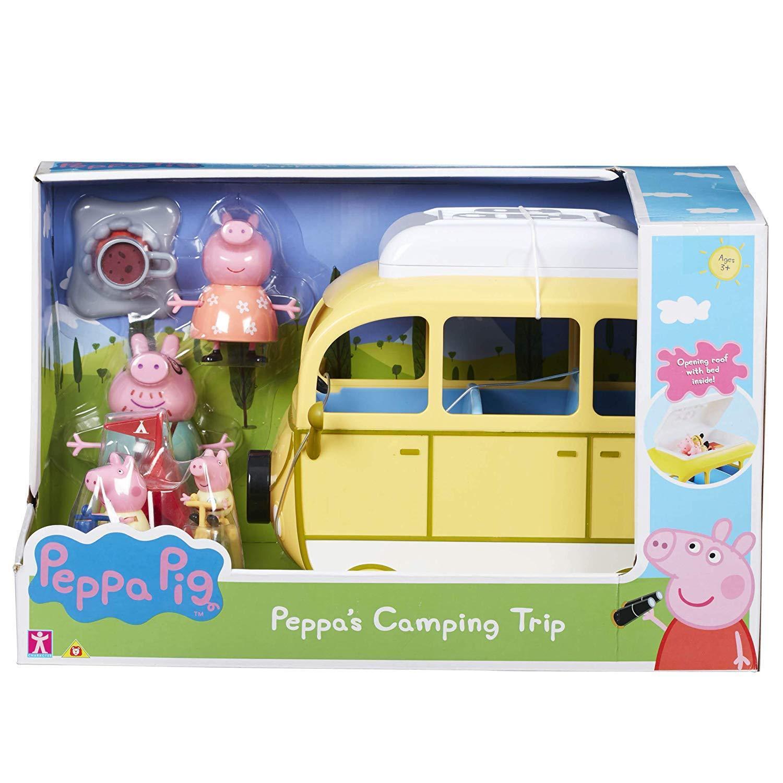 Peppa Pig Grande bilavana Campambo Trip Parque Infantel Veh 65533;rou 65533;culo & Accessoris