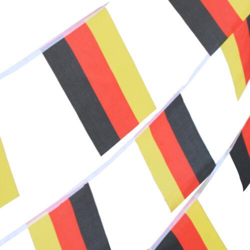Fahnenkette Flaggenkette Girlande Fahnen Flaggen Girlande Nationalflagge