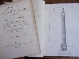Ambroise Tardieu. La Colonne De La Grande Armée D'austerlitz. 38 Planches 2/2