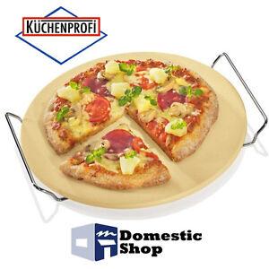 Piastra pietra refrattaria tonda da forno per pizza 30cm - Piastra refrattaria per forno casalingo ...