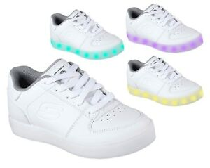 selezione straordinaria miglior fornitore comprare bene Details about SKECHERS ENERGY LIGHTS ELATE 90601L women's shoes girl sports  sneakers luci