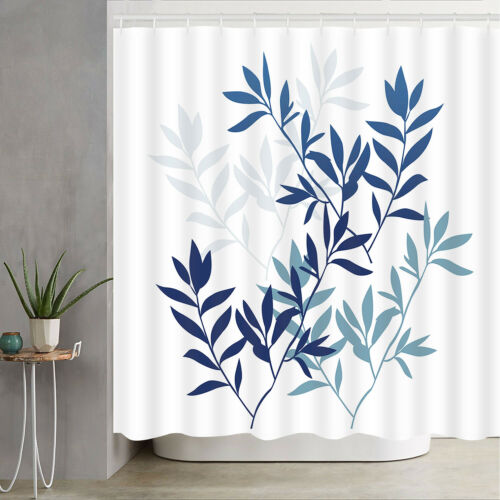 Shower Curtain Waterproof Natural Modern Ins For Bathroom Dorm Cover With Hooks