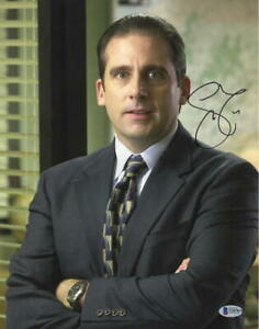 STEVE-CARELL-SIGNED-11X14-PHOTO-THE-OFFICE-AUTHENTIC-AUTOGRAPH-BECKETT-COA-C