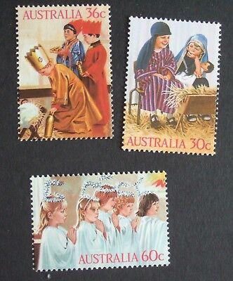 Briefmarken Angemessen Australia 1986 Christmas Sg1040/2 Um Mnh Unmounted Mint Australien