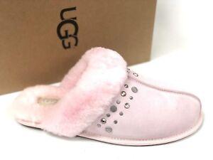c2fa2c236a4ab7 UGG Australia Women s Scuffette II Studded Bling Seashell Pink ...