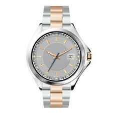 Italian Quartz Men's Analogue Stainless Steel, Glass, Water Resistant Wristwatch