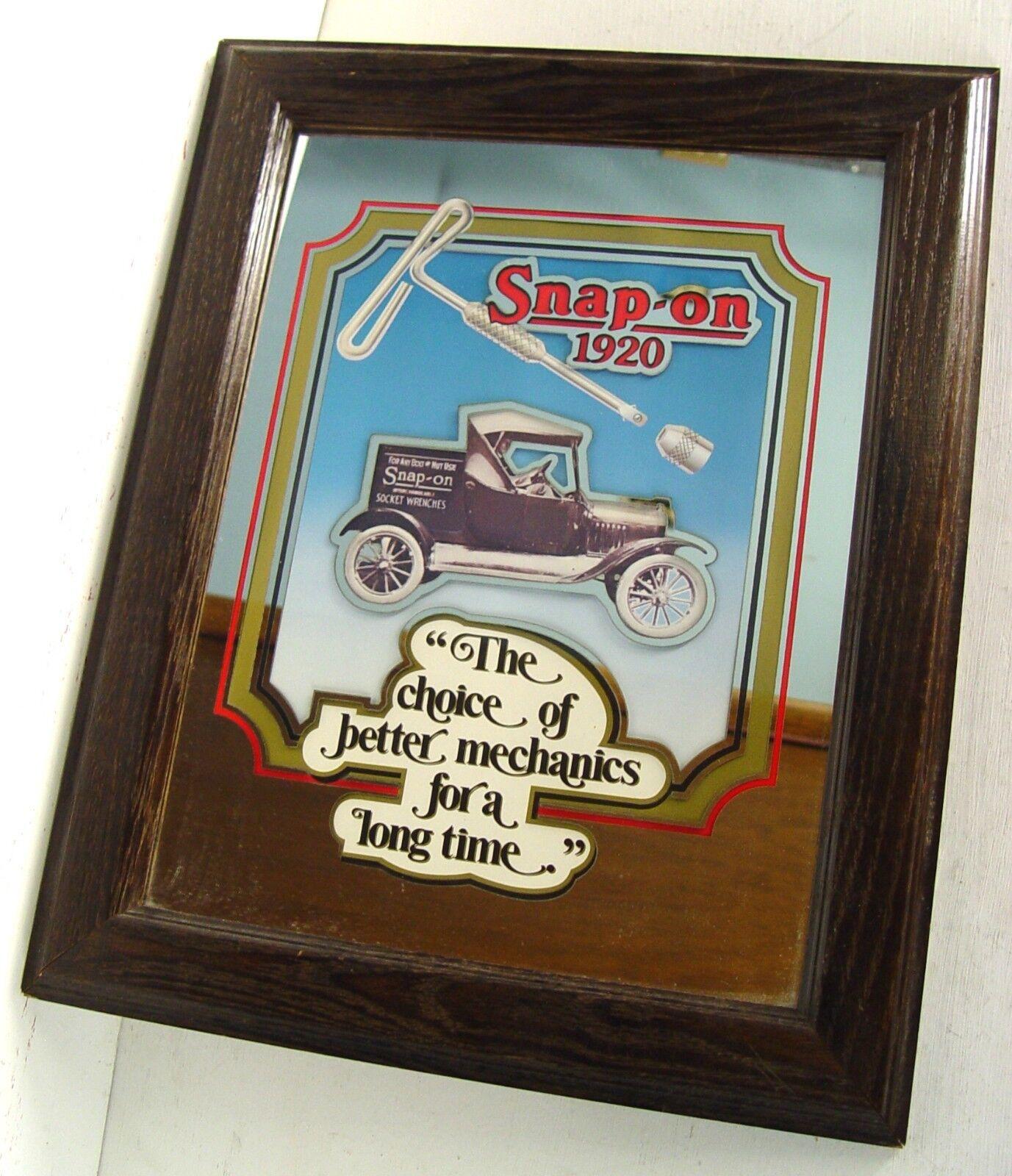 Snap-on Tools 1920 Coleccionable Espejo-Tomas-Llaves-Camión - T-Mango