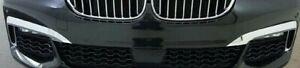 BMW-OEM-G11-G12-7-Series-2016-2019-M-Sport-Chrome-Front-Bumper-Trim-Pair-New