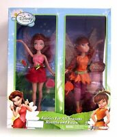 Disney Fairies For All Seasons 9 Summer Rosetta & Fall Fawn 2 Doll Set