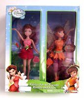 Disney Fairies For All Seasons 9 Summer Rosetta & Fall Fawn 2 Doll Set