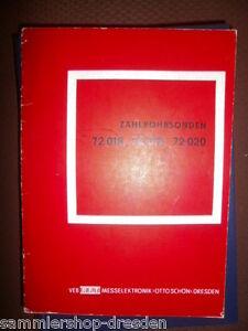 72018 Aggressiv El2002 Rft Zählrohrsonden 72019 Mit S.w.textzeichnungen 1971 72020