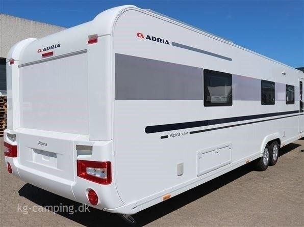 Adria Alpina 903 HT, 2018, kg egenvægt 2225