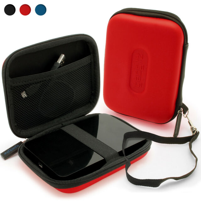 Red Case Cover for WD My Passport Elite Hard Drive (Suitable for 250gb - 640gb)