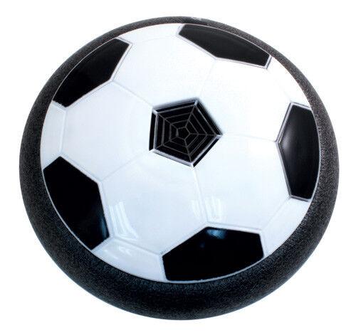Air Power Pallone a Disco da Calcio a Scivolo Aria Gioco da Interno 19cm Linq