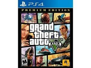 Grand-Theft-Auto-V-Premium-Edition-GTA-5-PS4-Sony-PlayStation-4-2013-Brand-New