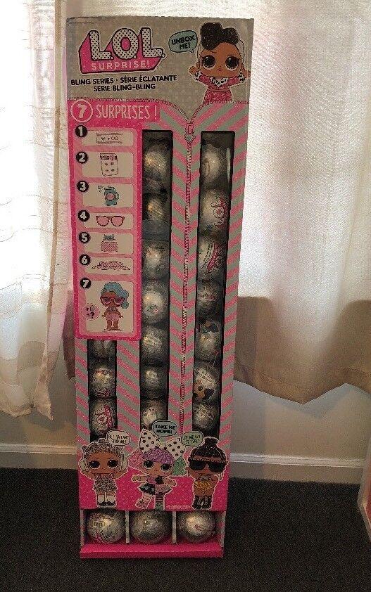 36 el nuevo lol lol lol sorpresa muñecas Bling serie con caja de presentación intacto  Entrega directa y rápida de fábrica