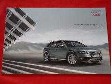 AUDI A4 B8 allroad quattro 2.0 TFSI 2.0 TDI 3.0 TDI Prospekt von 2009