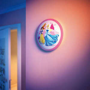 Philips 717602816 disney children novelty led princess ceiling light image is loading philips 717602816 disney children novelty led princess ceiling mozeypictures Image collections