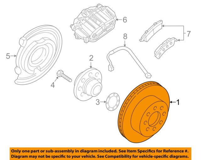 GM OEM Rear Brake-Rotor 15127537