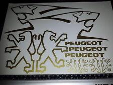 Peugeot Decals/Stickers ALL COLOURS AVAILABLE Speedfight Speedake Trekker buxy