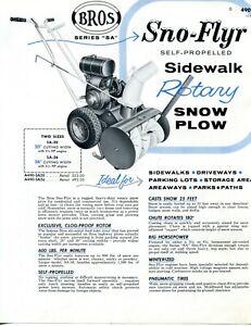 1958-Brochure-Ad-Bros-Sno-Flyr-Series-SA-20-26-Sidewalk-Rotary-Snow-Plow-Blower