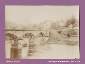 PHOTO-1900-BELGIQUE-LE-PONT-DE-MEMBRE-SUR-SEMOIS-PROVINCE-DE-NAMUR-A192