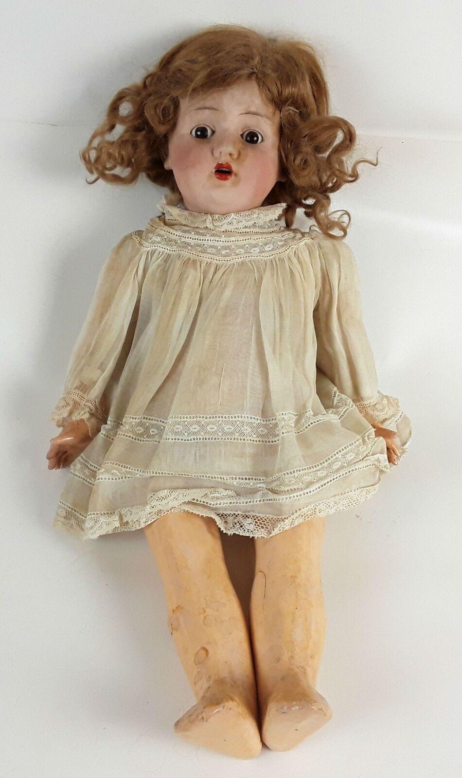 Muñeca Jules verlingue. Francia. Princ. S. XX
