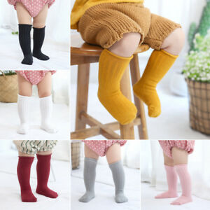 Cute-Toddler-Baby-Girls-Knee-High-Long-Socks-Winter-Warm-Cotton-Casual-Stockings