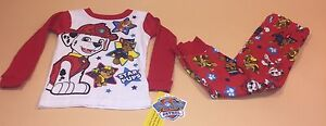 Nick-Paw-Patrol-Toddler-Boy-Long-Sleeve-Shirt-amp-Pants-Pajamas-PJs-New-4T