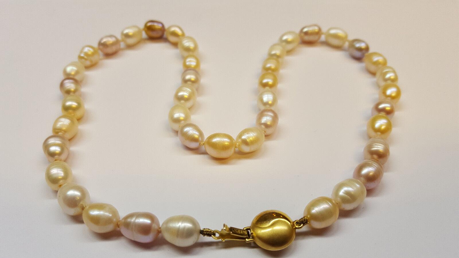 Collier Perles Or 375 obturateur PERLES COLLIER DE PERLES COLLIER