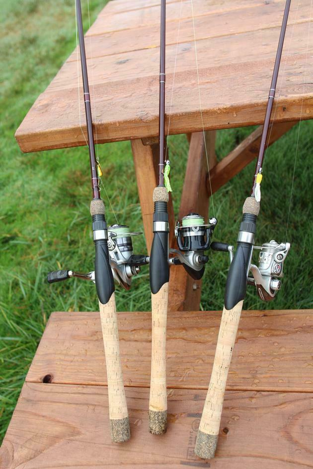 Lamiglas New X-11 Ultra Light Graphite Freshwater Rods