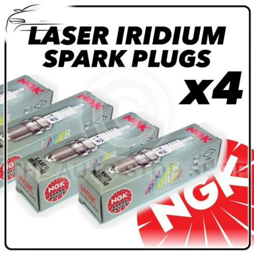 7556 laser iridium authentique 4x ngk spark plugs partie numéro imr9e-9hes Stock No