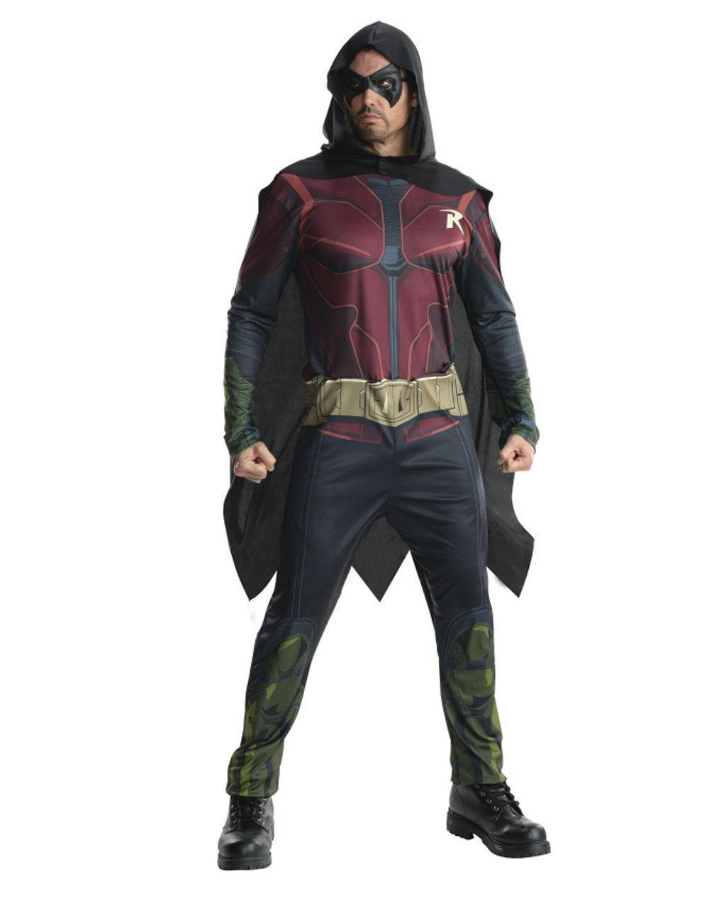Robin Costume, Mens Arkham City Outfit, XL,CHEST 44-46 ,WAIST 36-40 ,INSEAM 33  | Zuverlässiger Ruf