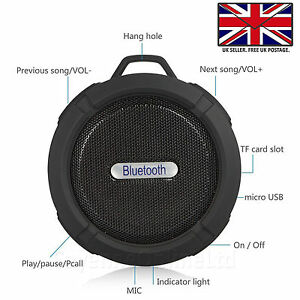 BLUETOOTH-WATERPROOF-WIRELESS-TRAVEL-SPEAKER-WITH-MIC-For-Honor-20-Lite