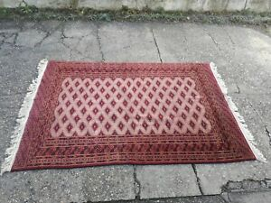 Teppich-Perserteppich-Buchara-Russisch-Weiche-Wolle-Geknotet-Hand-cm-175-x-125