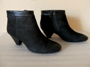 Ash-Boots-Boots-Size-38-Black-Leather-Authentic